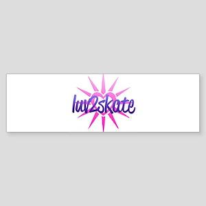 Luv 2 Skate Sticker (Bumper)
