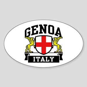 Genoa Italy Sticker (Oval)
