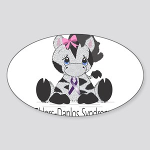 Ehlers-Danlos Syndrome Cutie Sticker (Oval)