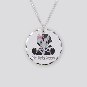 Ehlers-Danlos Syndrome Cutie Necklace Circle Charm