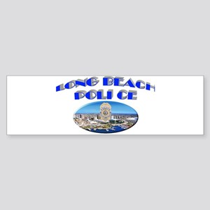Long Beach Police Sticker (Bumper)