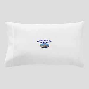 Long Beach Police Pillow Case