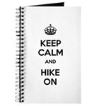 Keep Calm and Hike On Journal