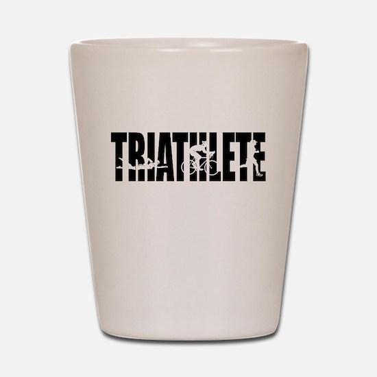 KO Triathlete Shot Glass