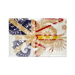 Newfoundland Flag Rectangle Magnet (10 pack)