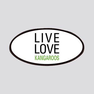 Live Love Kangaroos Patches