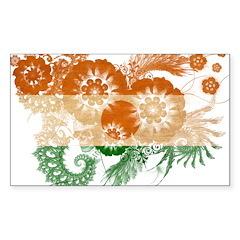 Niger Flag Sticker (Rectangle 50 pk)