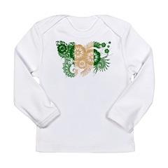 Nigeria Flag Long Sleeve Infant T-Shirt
