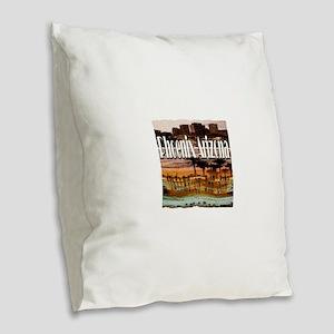 Phoenix Arizona Burlap Throw Pillow