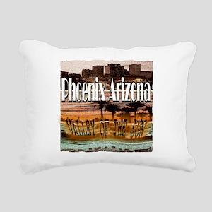 Phoenix Arizona Rectangular Canvas Pillow