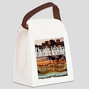 Phoenix Arizona Canvas Lunch Bag