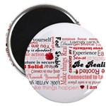 Root Chakra Typography Magnet