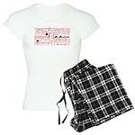 Root Chakra Typography Women's Light Pajamas
