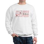 Root Chakra Typography Sweatshirt