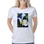 calla lilly art deco flowe Women's Classic T-Shirt