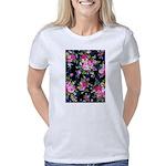 Rose Bouquets on a Black B Women's Classic T-Shirt