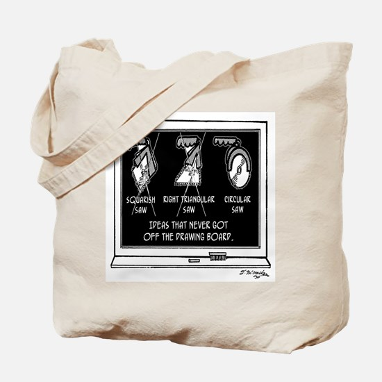 Squarish Saw Rejected Tote Bag