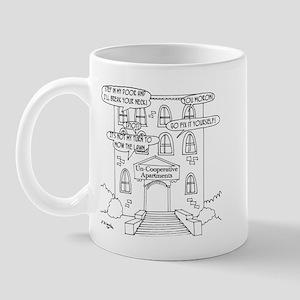 Uncooperative Apartments Mug