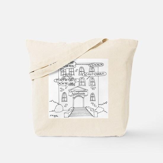 Uncooperative Apartments Tote Bag