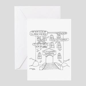 Uncooperative Apartments Greeting Card