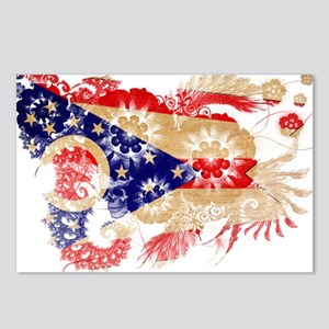 Ohio Flag Postcards (Package of 8)