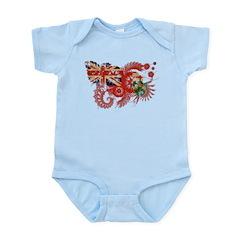Ontario Flag Infant Bodysuit