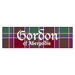Tartan - Gordon of Abergeldie Sticker (Bumper 10 p
