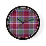 Tartan - Gordon of Abergeldie Wall Clock