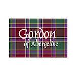 Tartan - Gordon of Abergeldie Rectangle Magnet