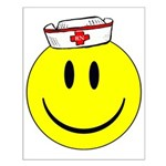 Registered Nurse Happy Face Small Poster