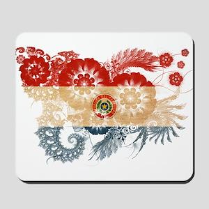 Paraguay Flag Mousepad