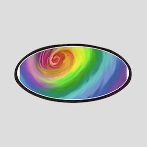 Rainbow Swirl Patches