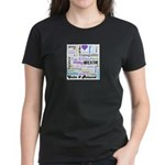 Relax Typography Women's Dark T-Shirt