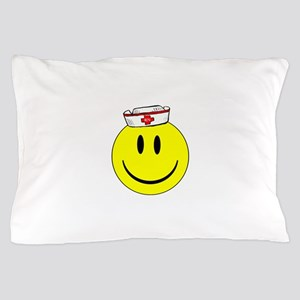 Registered Nurse Happy Face Pillow Case