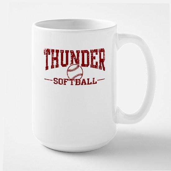 Thunder Softball Large Mug