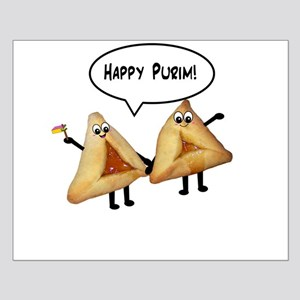 Happy Purim Hamantaschen Small Poster