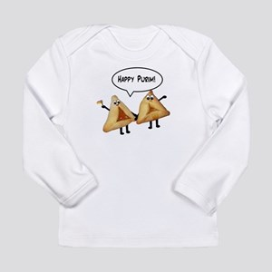 Happy Purim Hamantaschen Long Sleeve Infant T-Shir