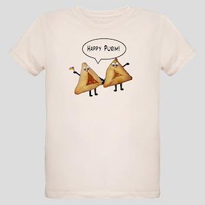 Happy Purim Hamantaschen Organic Kids T-Shirt