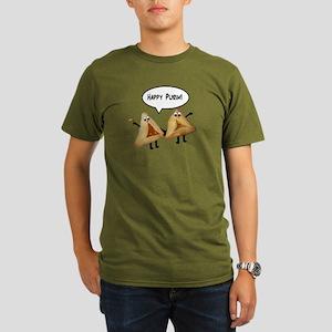 Happy Purim Hamantaschen Organic Men's T-Shirt (da