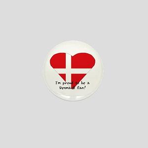 Denmark fan Mini Button