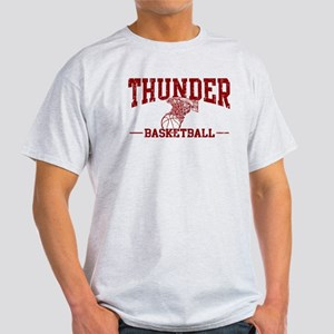 Thunder Basketball Light T-Shirt