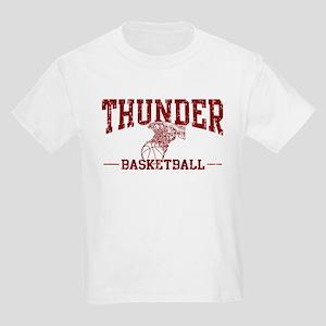 Thunder Basketball Kids Light T-Shirt