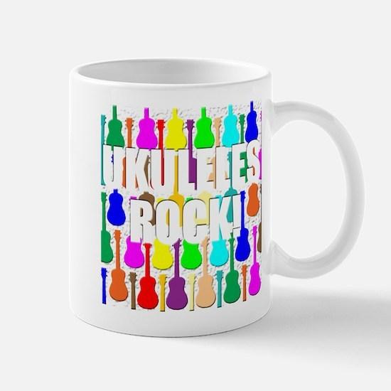 Awesome Ukuleles Rock Mug