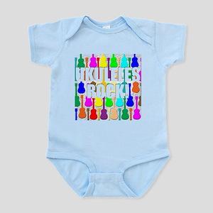 Awesome Ukuleles Rock Infant Bodysuit