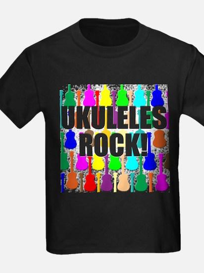 Awesome Ukuleles Rock T