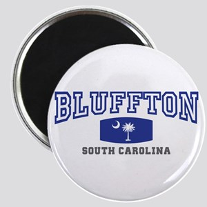 Bluffton South Carolina, Palmetto State Flag Magne
