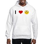 I love Nerds Hooded Sweatshirt