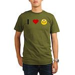 I love Nerds Organic Men's T-Shirt (dark)