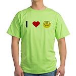 I love Nerds Green T-Shirt