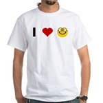 I love Nerds White T-Shirt